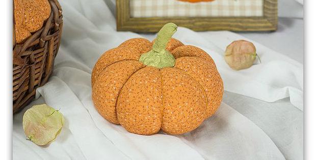 Stuffed Pumpkin Pincushion Pattern