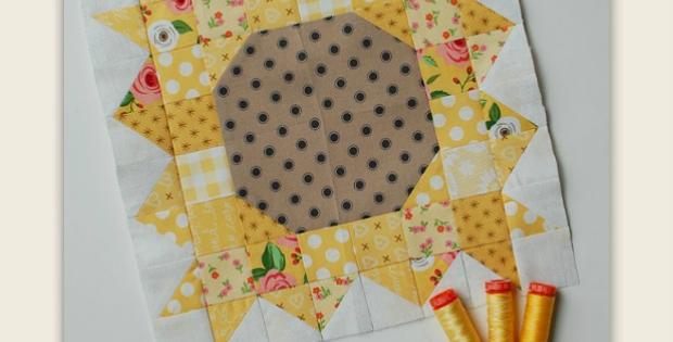 Sunflower Power Block Pattern