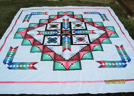 Create a Stunning Quilt That Shimmers with Color - Quilting Digest