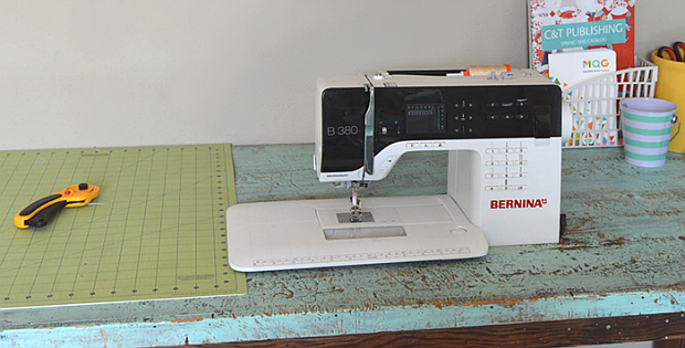 Turn a Thrift Store Find Into a Sewing Table