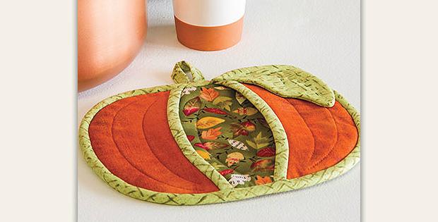 Pumpkin Pot Holder Quilt Pattern