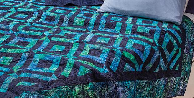 Winter Twister Quilt Pattern