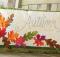 Simply Autumn Bench Pillow Pattern