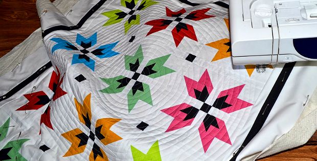 Create a Super Spiral for an Interesting Quilted Finish