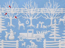 Winter in Wedgwood Quilt Pattern