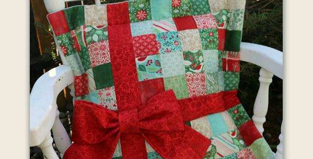 Christmas Present Pillow Tutorial