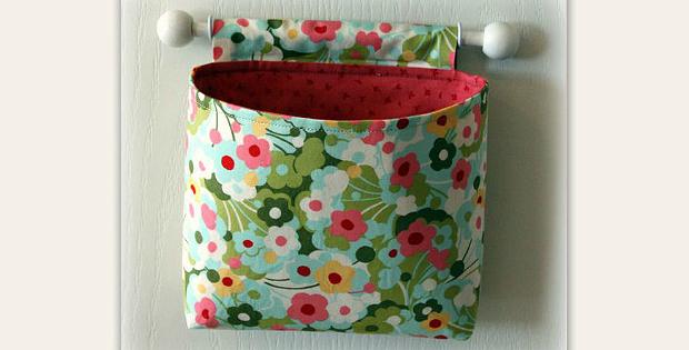 Hanging Fabric Baskets