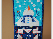 Let It Snow! Banner Pattern