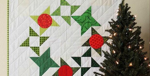 Berry Merry Wreath Pattern