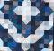 Patches Of Blue Quilt Pattern