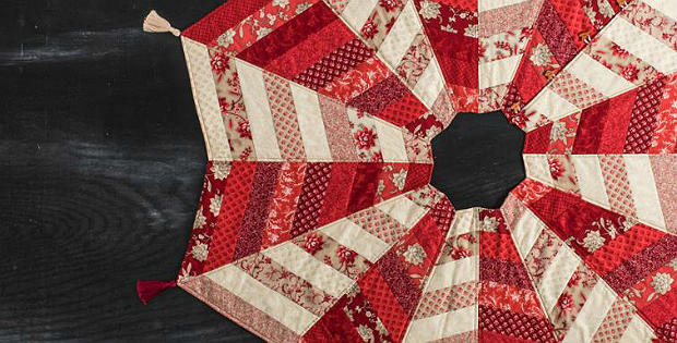The Quilted Tree Skirt Pattern