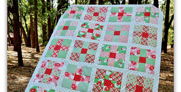 Uneven 9-Patch Quilt Pattern