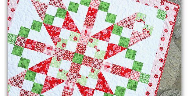 Vintage December Quilt Pattern