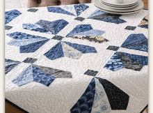 Winter Icicles Table Topper Pattern