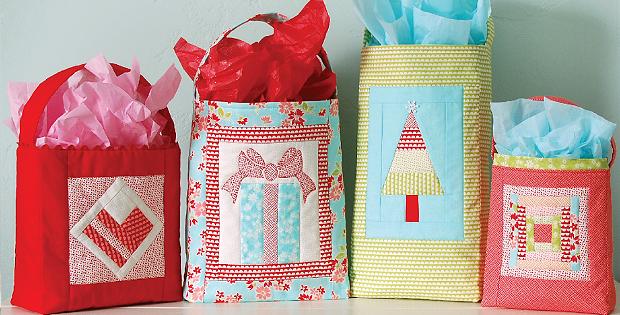 Handmade Gift Bags Pattern