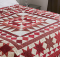 Red Between the Lines Quilt Pattern