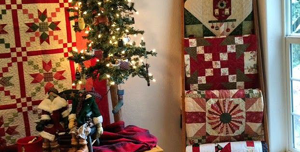 Decorate with Quilts for the Holidays and Beyond