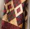 Diamond Pinwheels Lap Quilt Pattern
