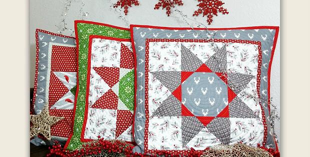 Octagon Star Pillow Pattern