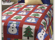Visions of Snowmen Quilt Pattern