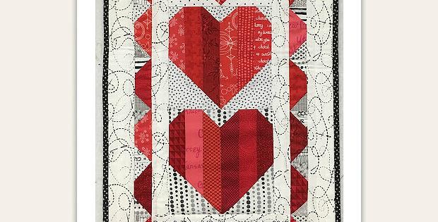 Valentine Trio Quilt Pattern