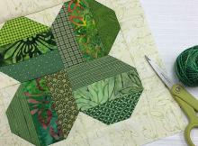Four-Leaf Lucky: Stitch a St. Patrick's Day Block