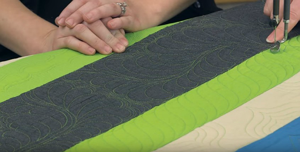 Machine Quilt Borders the Easy Way