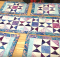 Charming Stars Table Runner and Place Mats Pattern
