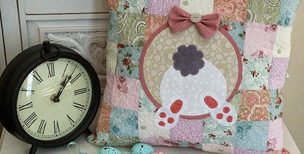 Bunny Butt Cushion Pattern