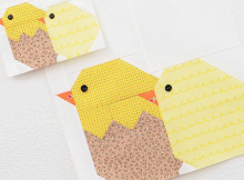 Five Sweet Quilt Blocks for Easter and More