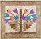 Tulip Basket Mini Quilt Pattern