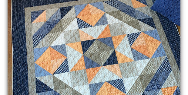 Lakeside Star Quilt Pattern