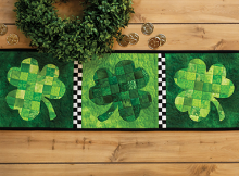 March Accent Table Runner Pattern