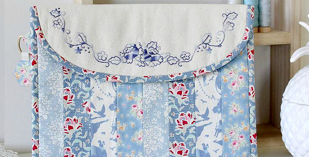 Summer Rose iPad Pouch Pattern