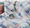 Blue Plaid Quilt Pattern