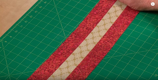 How to Straighten Curved Strip Sets