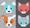 Dogs and Kittens Quilt Patterns