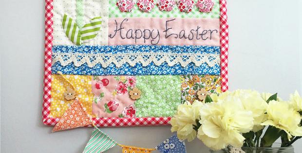 Happy Easter Mini Quilt