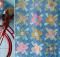 Apple Butter Scrapflower Quilt Pattern