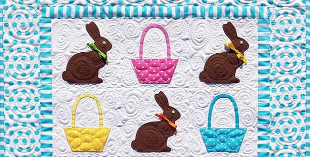 Chocolate Bunnies Quilt Pattern