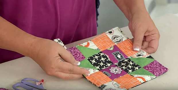 Make a Pot Holder from Any Quilt Block