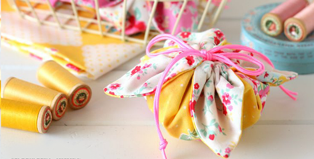 Fabric Gift Pouch Tutorial