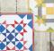 Barn Block Mini Quilt Series Pattern - July August