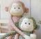 Hugging Monkees Pattern
