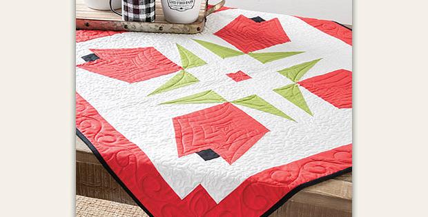 Rosebud Table Topper Pattern