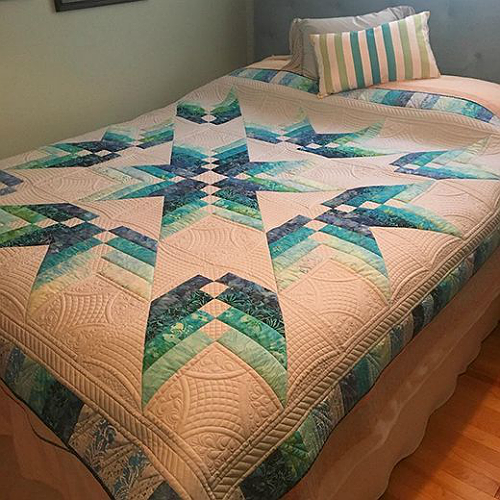 This Quilt is Sensational in Any Color Theme - Quilting Digest