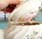 A Vintage Teapot Makes a Darling Sewing Caddy