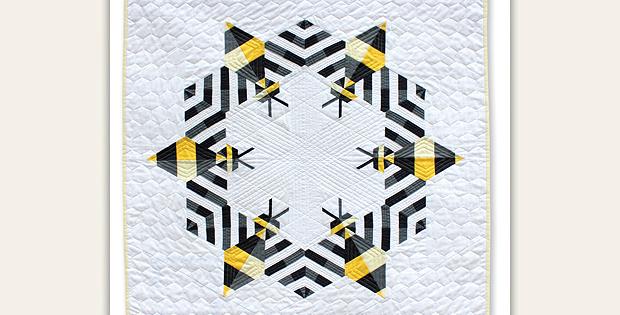 Bzzzzzz Mini Quilt Pattern