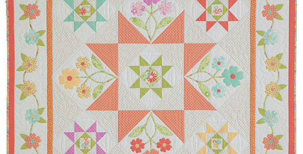 Patio Posies Quilt Pattern