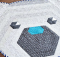 Cuddles The Hexi Bear Rug Pattern